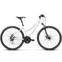 Kross Evado 4.0 2019 női Cross Kerékpár white/blue