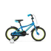 """Kross Racer 4.0 16"""" 2019 Gyerek Kerékpár blue/lime"""