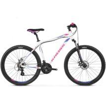 """Kross Lea 3.0 26"""" 2019 női Mountain Bike white/pink-violet"""
