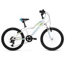 Kross LEA MINI 1.0 2020 Gyerek Kerékpár white-turquoise glossy