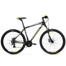 Kross HEXAGON 3.0 2020 férfi Mountain Bike black-lime-silver matte