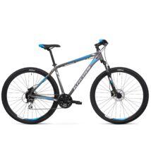 Kross HEXAGON 5.0 2020 férfi Mountain Bike black-graphite-lime matte