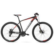 Kross LEVEL 1.0 2020 férfi Mountain Bike black-red-white matte