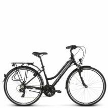 Kross TRANS 1.0 2020 női Trekking Kerékpár black-white glossy