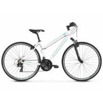 Kross Evado 1.0 2021 női Cross Kerékpár fehér-türkiz