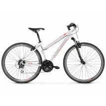 Kross Evado 3.0 2021 női Cross Kerékpár fehér-korall