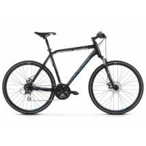 Kross Evado 4.0 2021 férfi Cross Kerékpár fekete-kék