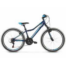 Kross Hexagon Jr 1.0 2021 Gyerek Kerékpár sötétkék-kék-ezüst