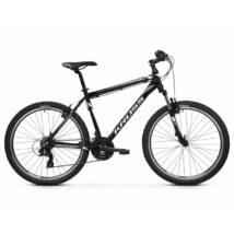 Kross Hexagon 26 2021 férfi Mountain Bike fekete-fehér-grafit