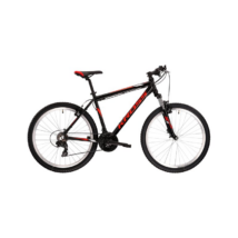 Kross Hexagon 26 2021 férfi Mountain Bike fekete-piros-grafit