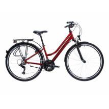Kross Trans 1.0 2021 női Trekking Kerékpár bordó-fekete