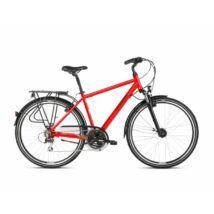Kross Trans 3.0 2021 férfi Trekking Kerékpár piros-fekete