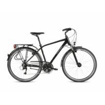 Kross Trans 4.0 2021 férfi Trekking Kerékpár fekete-szürke