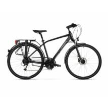 Kross Trans 5.0 2021 férfi Trekking Kerékpár fekete-szürke