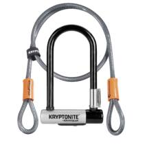 Kryptonite Kryptolok Mini-7 U-lakat + hurokkábel