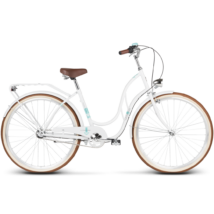 Le Grand Madison 3 2018 női Classic Kerékpár white glossy