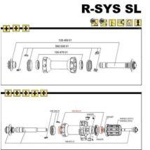 Mavic Rear Hub Qrm Sl Bearings