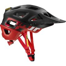 MAVIC Fejvédő CROSSMAX PRO BLACK/FIERY RED