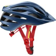 MAVIC Fejvédő CROSSRIDE SL ELITE TRUE BLUE/FIERY RED