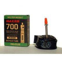 Maxxis Gumitömlő 700x25/32C Welter weight PV/FV 48mm 94g
