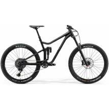 MERIDA ONE-SIXTY 800 2018 férfi Fully Mountain Bike matt fekete (fényes fekete)