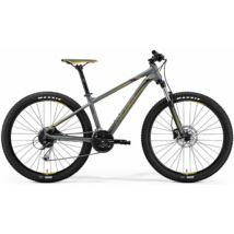 MERIDA BIG.SEVEN 100 2018 férfi Mountain Bike matt szürke (sárga/sötétszürke)