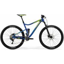 MERIDA ONE-TWENTY 9.XT EDITION 2018 férfi Fully Mountain Bike fényes kék (zöld)
