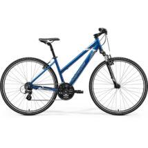 Merida Crossway 10 2021 női Cross Kerékpár kék (acélkék/fehér)