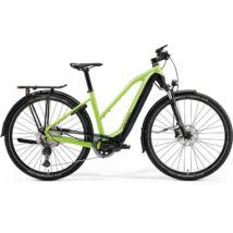 Merida Espresso 600 Eq 2021 női E-bike matt zöld (fekete)