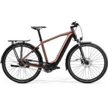 Merida eSpresso 700 Eq 2021 férfi E-bike Selyem bronz (fekete)