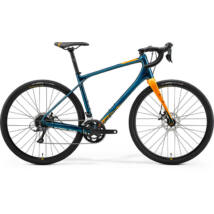 Merida Silex 200 2021 férfi Gravel Kerékpár zöldeskék-kék (gold)