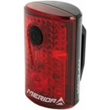 "MERIDA Lámpa SAFETY hátsó villogó - 3 LED USB ""Safety"""