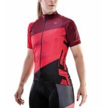 Merida Mez CX Design rövid végig zipzár női piros-fekete - 740266-422