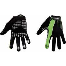MERIDA Kesztyű LIGHT SPORT hosszú zöld/fekete