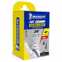 Michelin Tömlő 26x1.5/2.2 Air Comp Ultralight Gal-FV 40mm