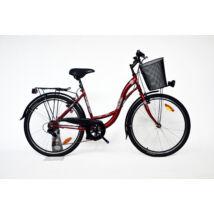 """Trans Montana City 26"""" acél 6 sebességes női City kerékpár"""