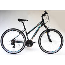 Trans Montana Cross Trekking 2.0 Alu 21seb női cross kerékpár fekete/kék
