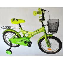 """Trans Montana BMX 16"""" Zöld Kid Fiú gyerek kerékpár"""