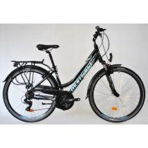 Trans Montana 2.0 Alu. 21seb.agydinamó női Trekking kerékpár fekete/kék