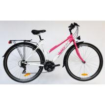 Montana acél női trekking kerékpár pink/fehér