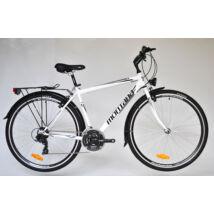 """Trans Montana Trekking 1.0 acél férfi kerékpár 28"""" fehér-fekete"""