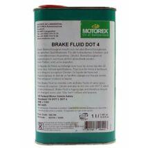 Motorex BRAKE FLUID DOT 4 fékfolyadék (165 celsius forráspont) 1 L