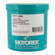 MOTOREX BIKE GREASE 2000 zsír zöld 850G