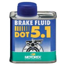 MOTOREX BRAKE FLUID DOT 5.1 fékfolyadék (180 celsius forráspont) 250ML