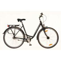 Neuzer Padova 28 N7 City Kerékpár fekete/türkiz
