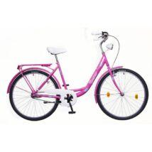 Neuzer Balaton 26 Plus női City Kerékpár pink/fehér-kék
