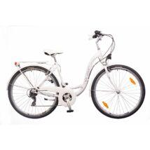 Neuzer Ravenna 30 női City Kerékpár fehér/szürke-lila