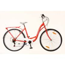 Neuzer Ravenna 6 Plus női City Kerékpár piros