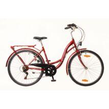 Neuzer Venezia 6 női City Kerékpár bordó