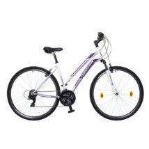 Neuzer X-Zero női Cross Kerékpár fehér/lila-mályva